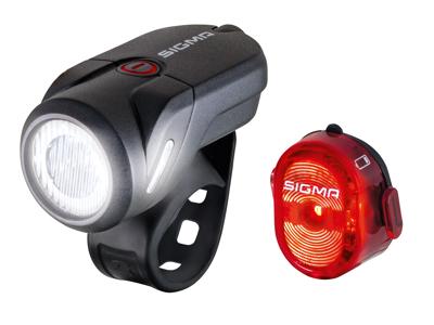 Sigma - Roadster lygtesæt - USB genopladelig