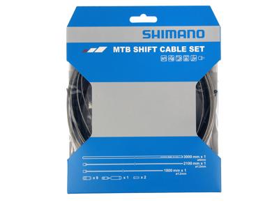 Shimano SP41 - Gearkabel sæt til for- og bagskifter - MTB - Sort