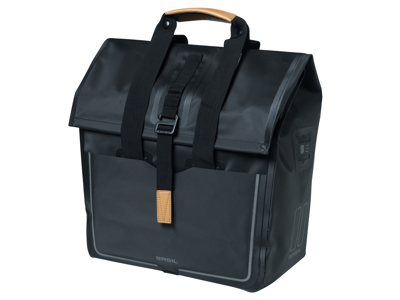 Basil Urban Dry - Cykeltaske til bag - 25 liter - Black