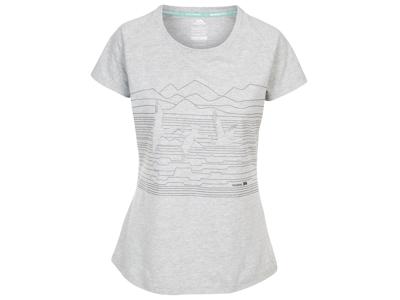 Trespass Dunebug - Dame T-shirt - Grå melange