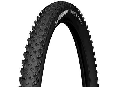 Michelin Country Race'r - MTB dæk med kanttråd - 26x2,10 (54-559) - Sort