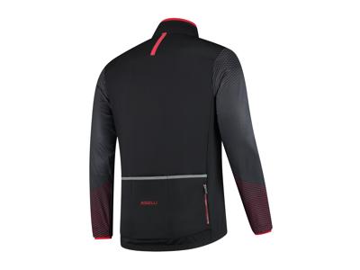 Rogelli Wire - Vinterjakke - 0 til 10 grader - Sort/Rød