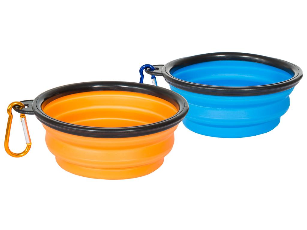 Trespaws Sippy - Hunde madskål og drikke skål - Foldbar rejsemodel thumbnail