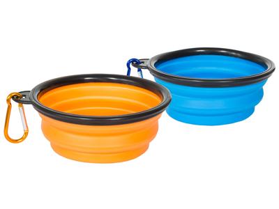 Trespaws Sippy - Hunde madskål og drikke skål - Foldbar rejsemodel