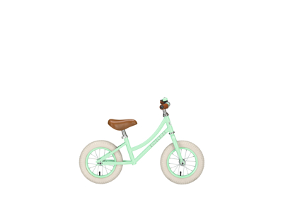 "EXCELSIOR - Retro løbecykel - 12"" hjul - Light green"