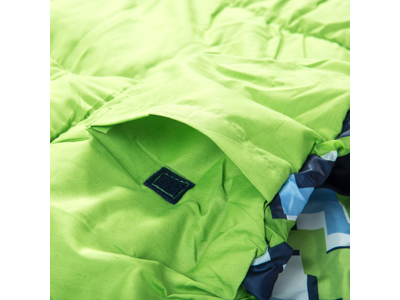 Trespass Bunka - Junior-sovepose - Letvægt - 175 x 65 x 45 cm - Blå