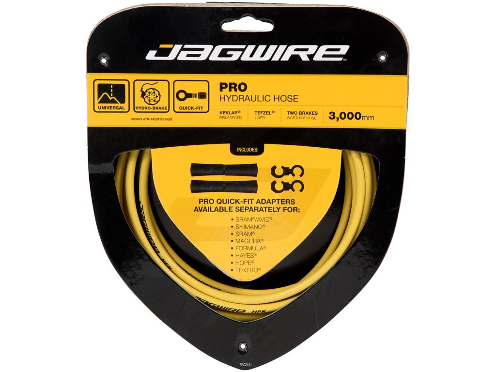 Image of   Jagwire - Pro Hydraulic Hose - Hydraulisk - Quickfit - Gul