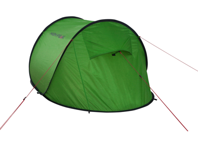 High Peak Vision 3 - 3 personers telt - Grøn