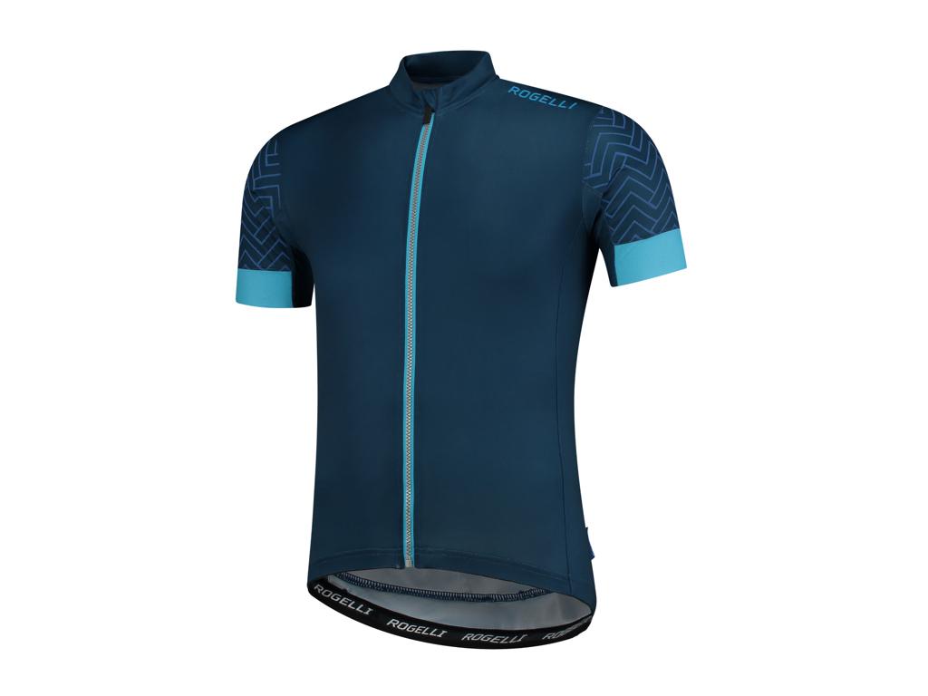 Rogelli Bolt - Cykeltrøje - Dynacool - Blå/Blå - Str. S thumbnail