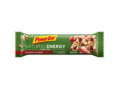 Powerbar Natural Energy - Jordbær og Tranebær 40 gram