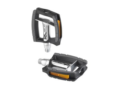 XLC - Pedal PD-C09 - Citybike - Comfortabel - Sort/Sølv