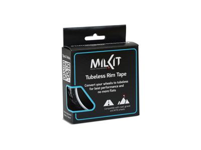 Milkit - Fælgtape til tubeless - 10 meter - Sort
