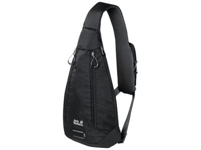 Jack Wolfskin Delta bag - Carry over taske - 4 liter - Sort