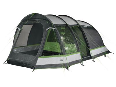 High Peak Bozen 6.0 - 6 personers telt - Grå/grøn