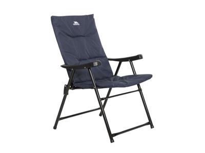 Trespass Paddy - Camping stol - Foldbar - Stål ramme - Navy