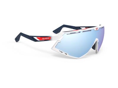 Rudy Project Defender - Løbe- og cykelbrille - Multilaser Ice - Hvid gloss