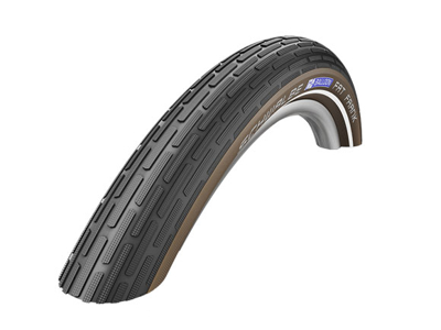 Schwalbe Fat Frank - K-Guard Tråddæk - 28x2,00 (50-622) Sort/Coffee-Refleks