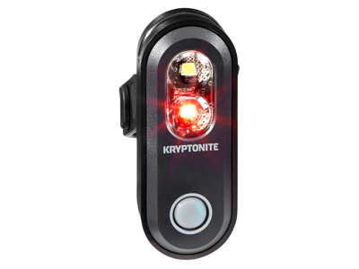 Kryptonite Avenue F70/R-35 - Cykellygte 2 in 1 - 35 lumen - USB opladelig
