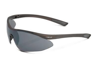 XLC - Bali - Cykelbrille - Sort Mirror linse