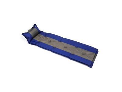 Lome Poly - Luftmadras - 57 x 192cm - Blå/Grå - PVC Polyester