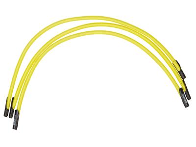 Basil Keep in place - Elastik til fastgørelse i kurven - 3 stk. Neongul