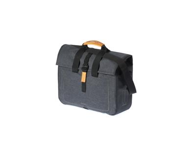 Basil Urban Dry - Cykeltaske til bag - 20 liter - Dark grey