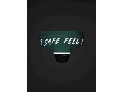Hövding 3 - Cykelhjelms-cover - One Size - Neo mint