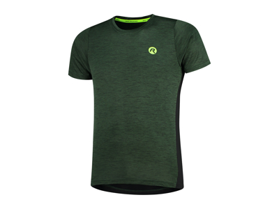 Rogelli Matrix - Sports t-shirt - Grøn/Sort