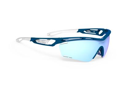Rudy Project Tralyx - Løpe- og sykkelbriller - Multilaser Ice linser - Multi isblå