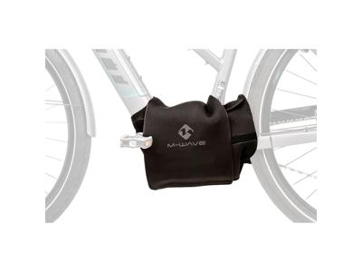 M-Wave E-Protect Center - Beskyttelsescover - Til Elcykel centermotor - Neopren - Sort