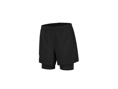 Rogelli Matrix - Running Shorts 2 in 1 - Black