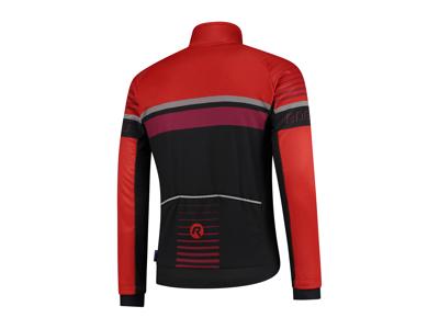 Rogelli Hero - Vinterjacka - 0 till 10 grader - Svart / Röd / Bordeaux