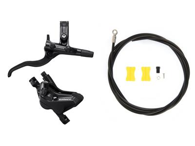 Shimano Deore - Bremsesæt hydraulisk med 4 stempler - Bag/højre - MT420