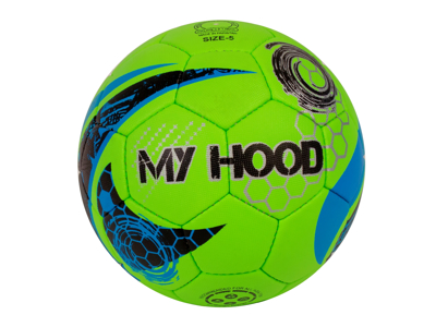My Hood Streetfodbold - Grøn - Str. 5 - Kunstlæder