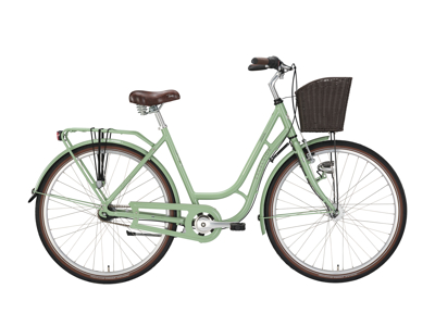 "EXCELSIOR - Swan Retro m. 7 Gear - 28"" hjul - Pale green"