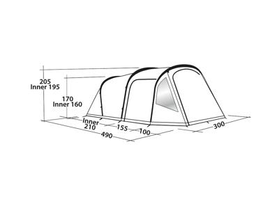 Easy Camp - Base Air 500 - Lufttelt