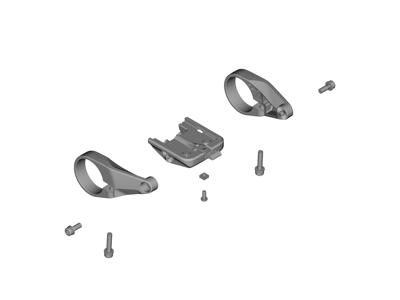 Shimano Steps - Computer beslag komplet- ved styr - Type E6100