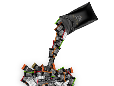 PurePower Black Bag # 1 - Energy Bag - Väska med 31 st.
