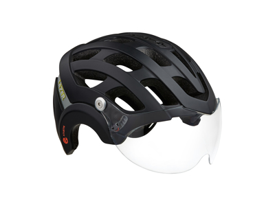 Lazer Anverz NTA - Cykelhjelm med LED lys - E-bike - Mat sort