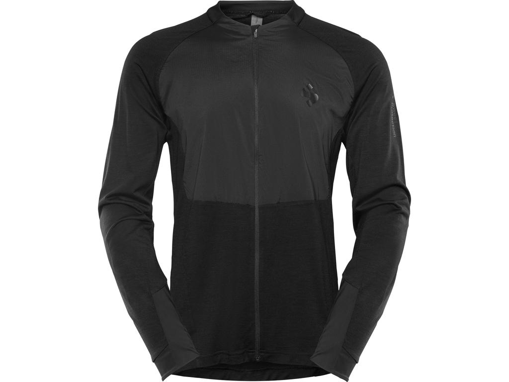 Image of   Sweet Protection Hunter Merino Wind FZ - Cykeljakke - Sort - Str. XL
