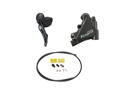 Shimano Tiagra R4720 - Skifte- og bremsegreb venstre - Hydraulisk kaliber og olieslange