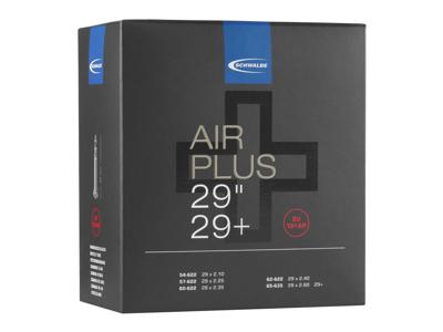 """Schwalbe Air Plus - Slange 29"""" 700 x 54-65c med 40mm langRacer ventil SV19+AP"""