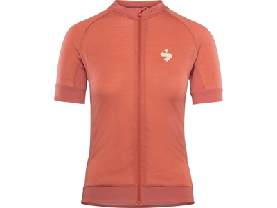 Sweet Protection Crossfire Merino SS Jersey W - Sykkeltrøye for kvinner - Coral