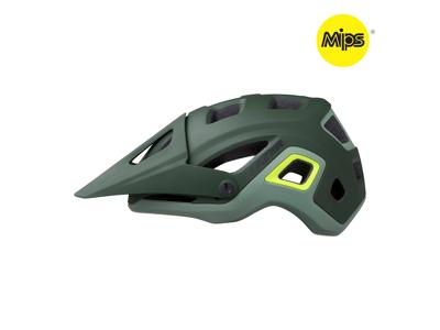 Lazer Impala MIPS - Cykelhjelm MTB - Mat mørkegrøn