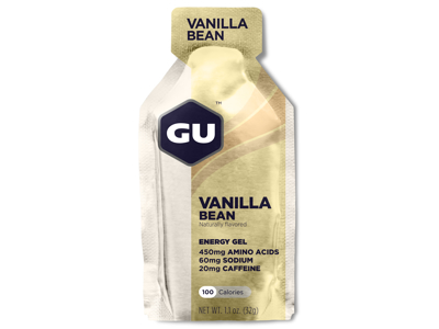 GU Energy Gel - Vanilla Bean - 20 mg koffein - 32 gram