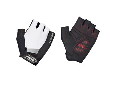 GripGrab SuperGel - Polstret kortfingret handske - Hvid