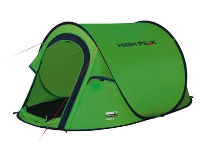 High Peak Vision 2 - 2 personers telt - Grøn