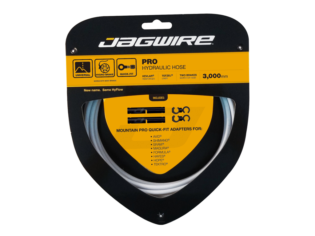 Image of   Jagwire - Pro Hydraulic Hose - Hydraulisk - Quickfit - Hvid