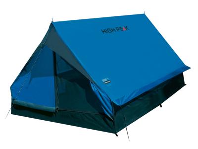 High Peak Minipack - 2 personers telt - Blå