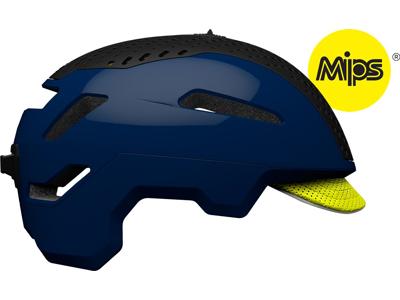 Bell Annex MIPS - Cykelhjelm - Str. 52-56 cm - Mat midnats blå